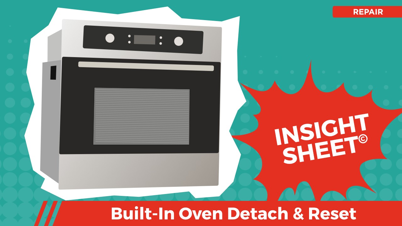 Actionable Insights Oven Detach & Reset