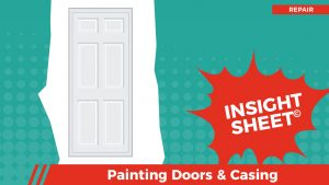 Actionable Insights Painting Doors & Casing