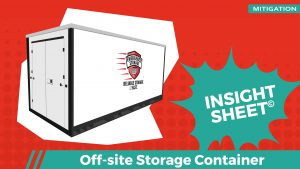 Actionable Insights Off-site Storage Container