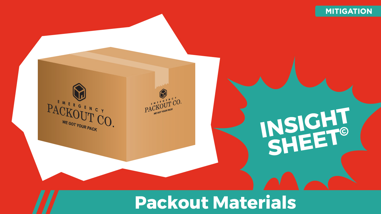 Actionable Insights Packout Materials