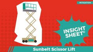 Actionable Insights Sunbelt Scissor Lift