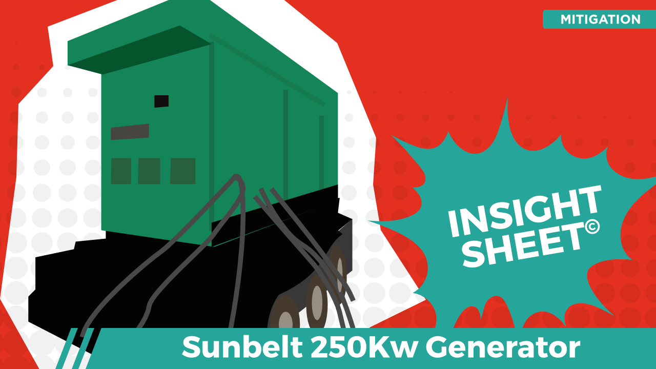 Actionable Insights Sunbelt 250k Generator