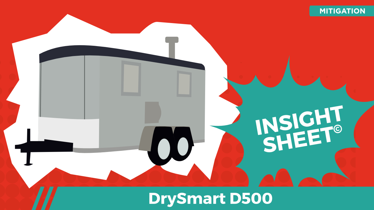 Actionable Insights DrySmart D500