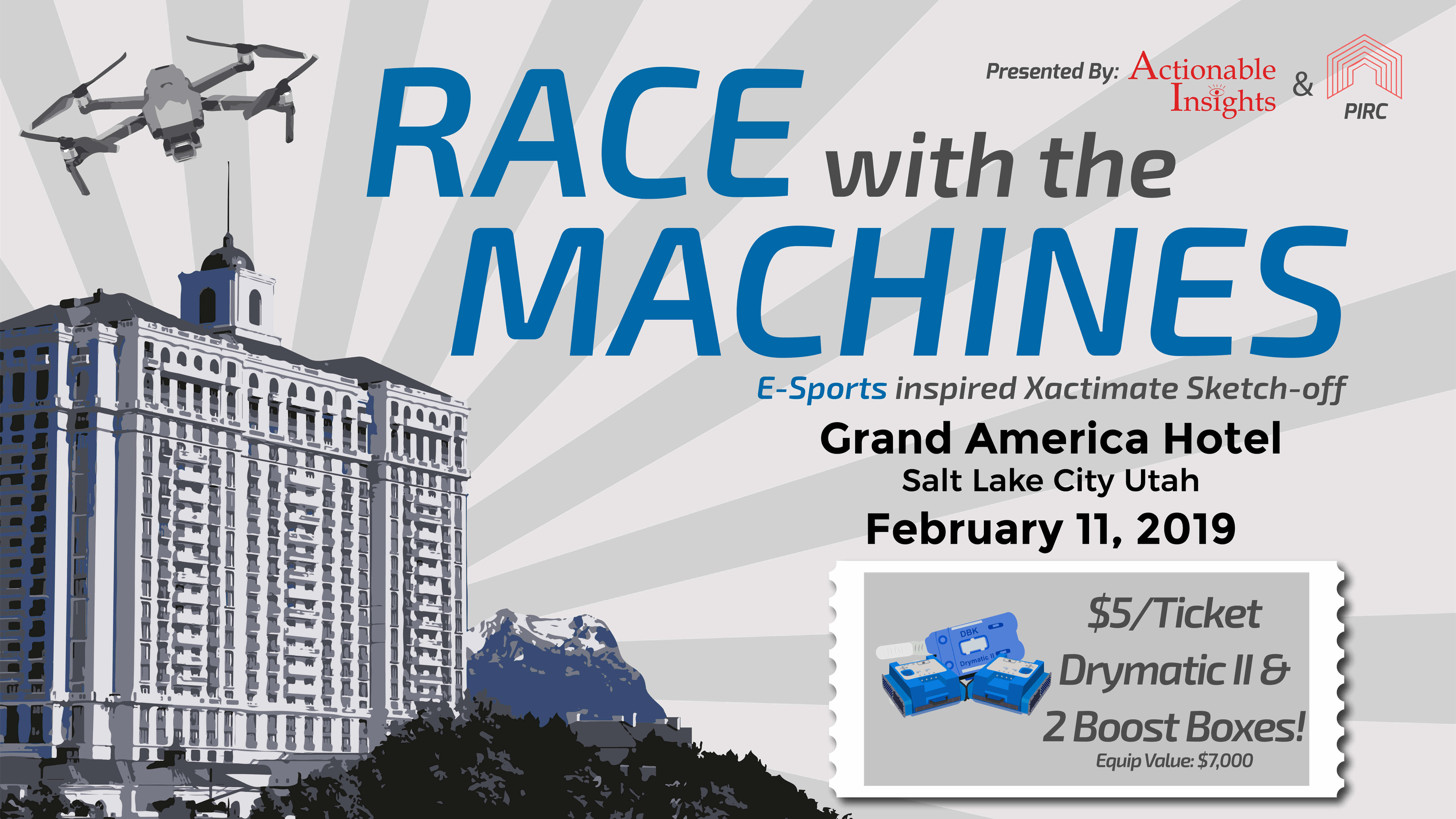 Race With The Machines - DBK Equipment Raffle Events - Actionable Insights