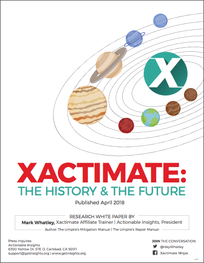 White Paper | Xactimate: The History and The Future