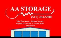 AA Mini Warehouse & Vehicle Storage