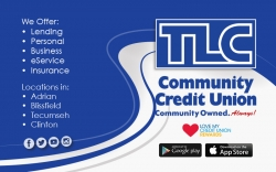 TLC Community Credit Union (N.Main St - Adrian)