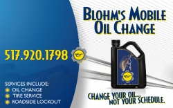 Blohm's Mobile Oil Change