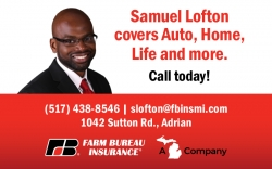 Samuel Lofton | Farm Bureau Insurance