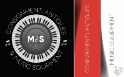M&S Consignment Antiques Music Equipment