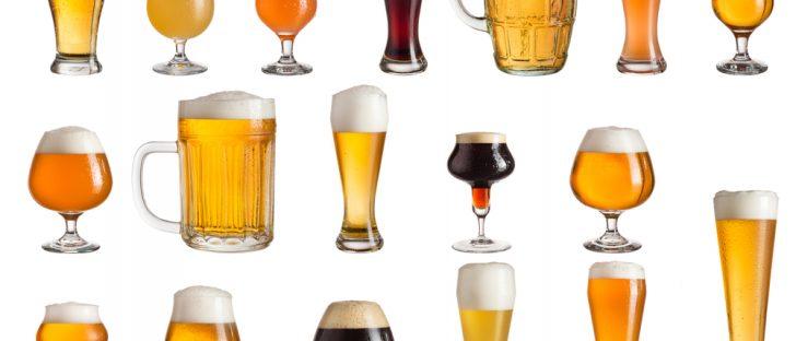 multiple-types-craft-bier-white-background