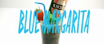 Blue Margarita Cocktail