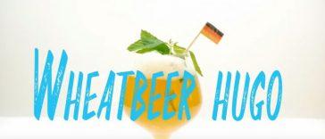 Wheat Beer Hugo Cocktail