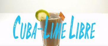Cuba Lime Libre Cocktail