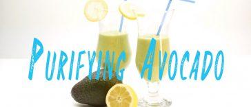 Purifying Avocado Healthy Drink