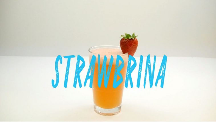 Strawbrina Cocktail