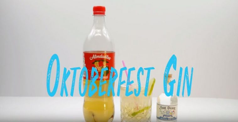 Oktoberfest Gin Cocktail