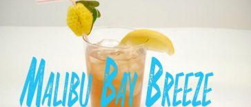 Malibu Bay Breeze Cocktail