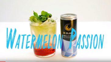 Watermelon Passion Cocktail