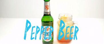 Pepper Beer Cocktail