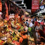 night market in barcelona