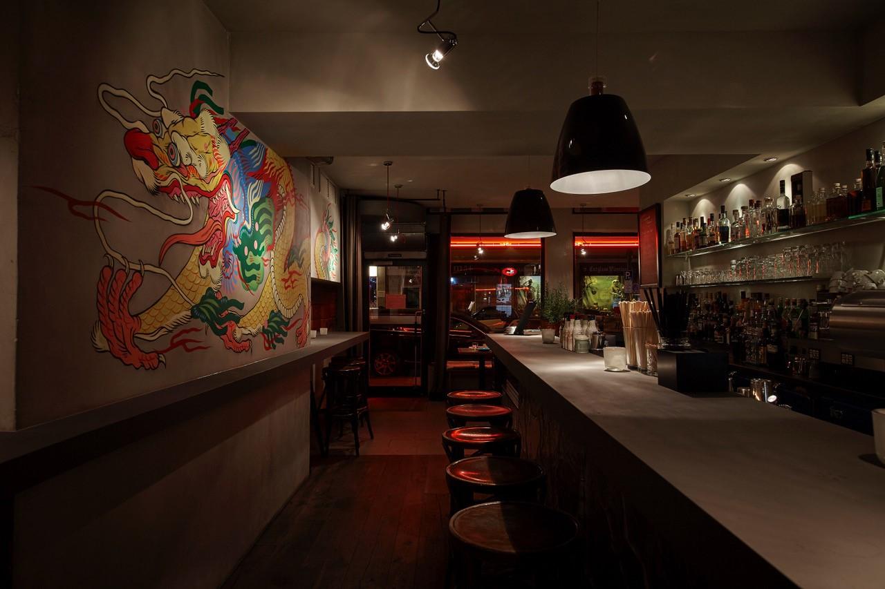 The Drunken Dragon Bar