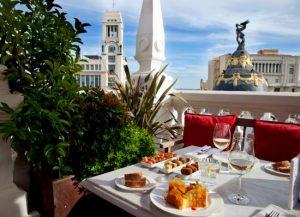 La Terraza at Principal Madrid Hotel