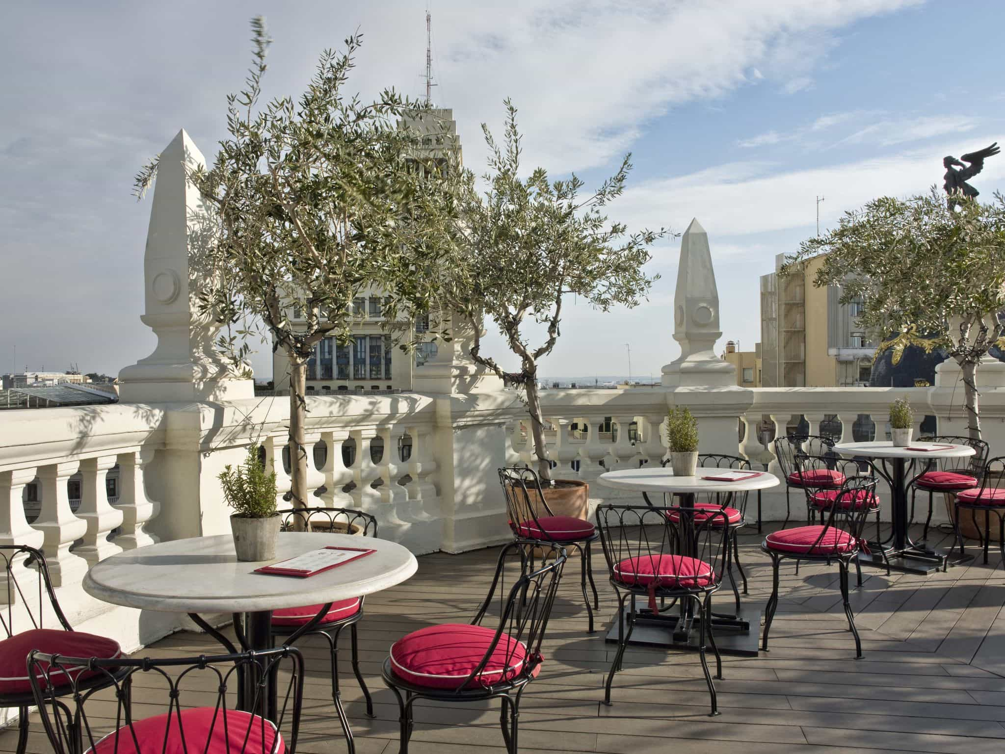 La Terraza at Principal Madrid Hotel