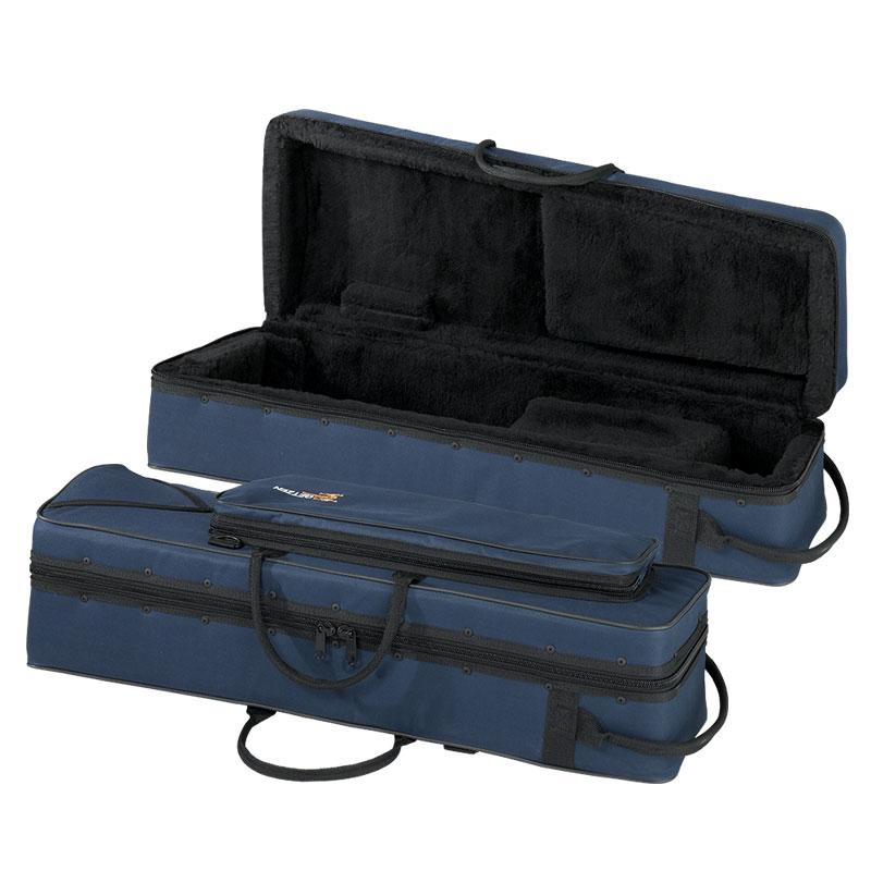 Getzen AC-C-725 Blue, Soft-Sided F Attachment Trombone Case w/Shoulder Strap