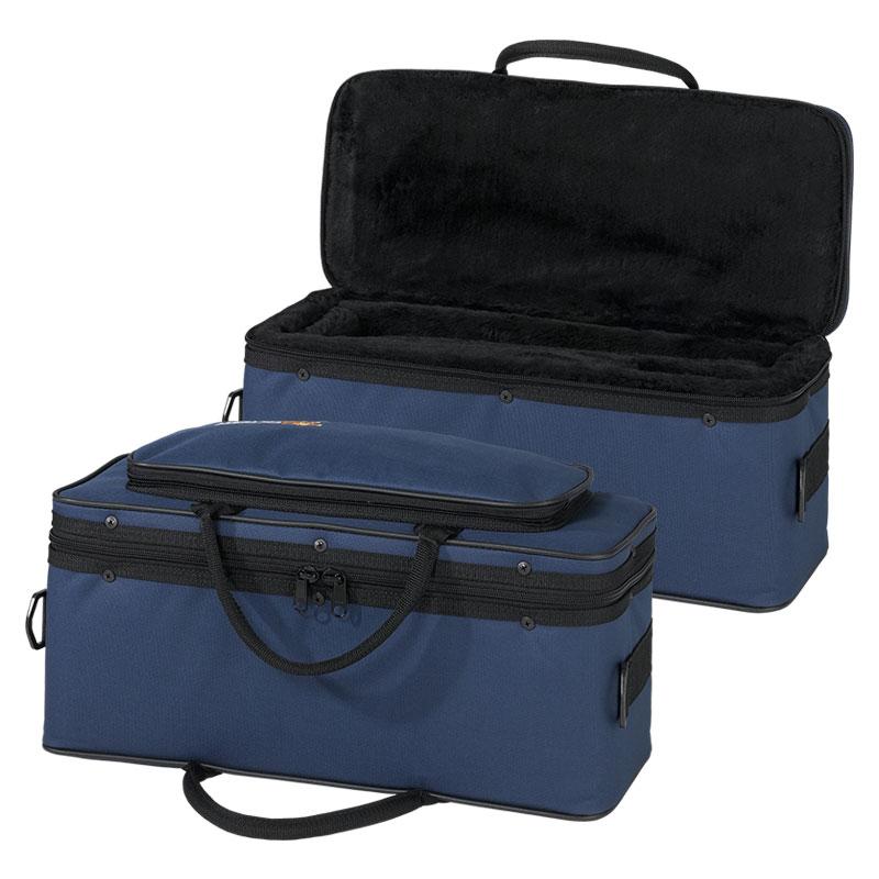 Getzen AC-C-8000 Blue, Soft-Sided Cornet Case w/ Shoulder Strap