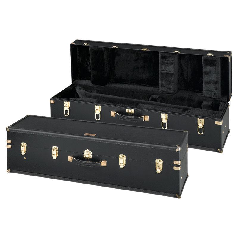 Getzen AC-C-998 Wooden Valve Trombone Case w/Handslide Compartment