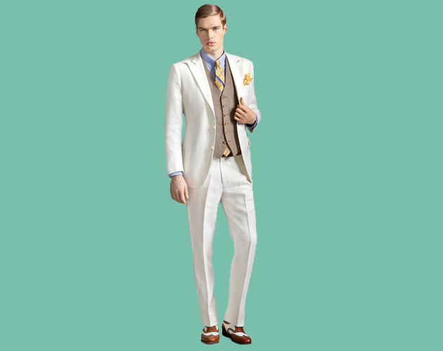 5b6db6299ccb8 Aunque Gatsby es muy atrevido y porta con seguridad trajes rosa pastel