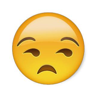 Resultado de imagen de cara del whatsapp indiferente