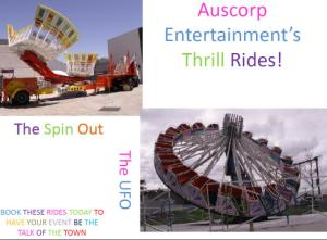 Our Thrill Rides