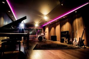 One of the 4 recording rooms at ASharp Studio