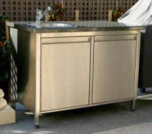 Outdoor Cupboard in Stainless