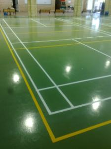 Undercover sport courts