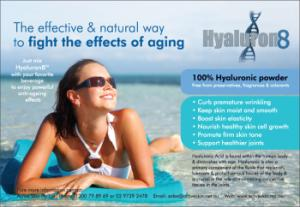 Hyaluron8 Hyaluronic Food Supplement
