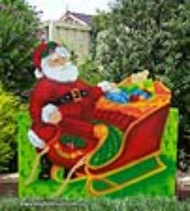 SS-03 Traditional Santa Sleigh