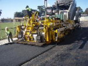 Asphalt Paving at Soldier's Reserve Werribee