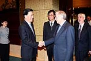 Chinese Translator and Trade Minister World Exp0