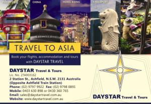 DAYSTAR Travel | Travel to Asia