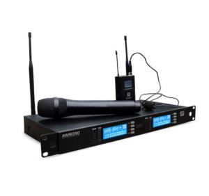Approved wireless microphones incl dual & quad
