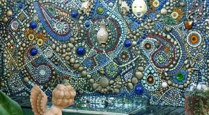 Mosaic wall in garden or for pool wall ozmosaics a