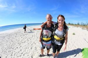 WA's best beach skydive experience
