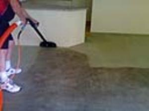 Getting dirty carpets clean