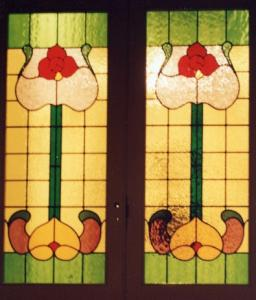 Leadlight window panels