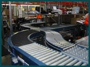 Powered and Gravity roller conveyors