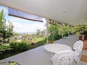Enjoy the outlook from your veranda space