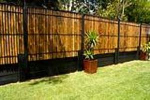 Bamboo Transformation of a Timber fence
